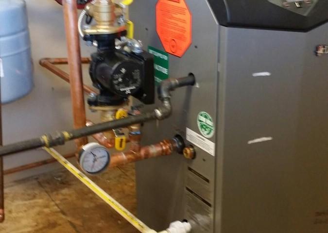 High-efficiency furnace